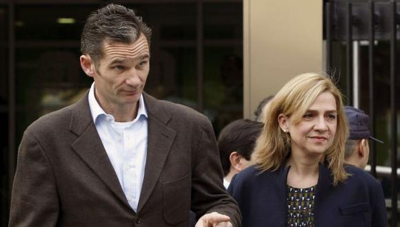 Infanta Cristina y su esposo. (EFE)