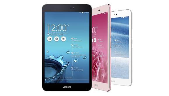 La nueva tableta Asus Memo Pad 8. (USI)