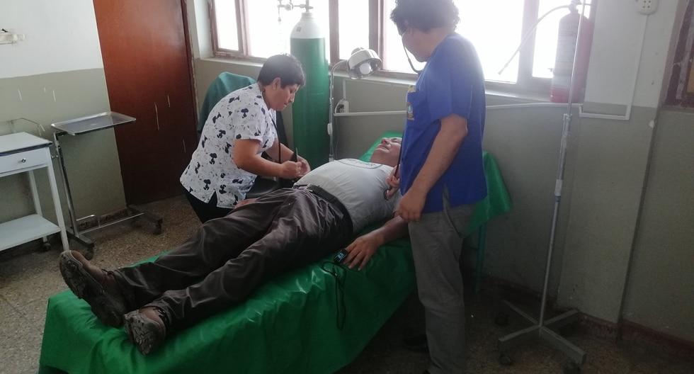 Los regidores y trabajadores fueron trasladados de emergencia a la posta médica de Santa. (Foto: Municipio Distrital de Santa)
