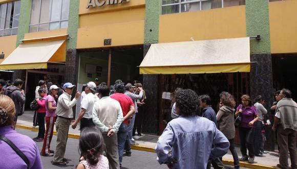 El sismo ocurrió este domingo en la tarde en la ciudad de Maca. (GEC)