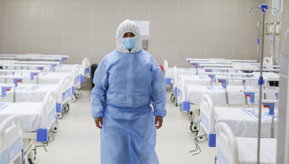 El Gobierno planea implementar 883 camas de alto flujo de oxígeno ante una eventual llegada de una tercera ola del COVID-19. (Foto: Essalud)
