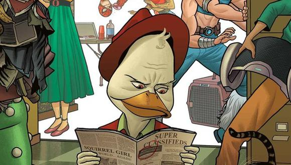 "Se anunció que el ""Howard the Duck"" sería una serie animada de corte adulto. (Foto: Marvel Comics)"