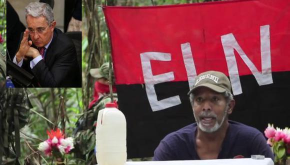 'Pablo Beltrán', miembro del ELN, pide que el ex presidente Álvaro Uribe participe en las negociaciones de paz (Efe).