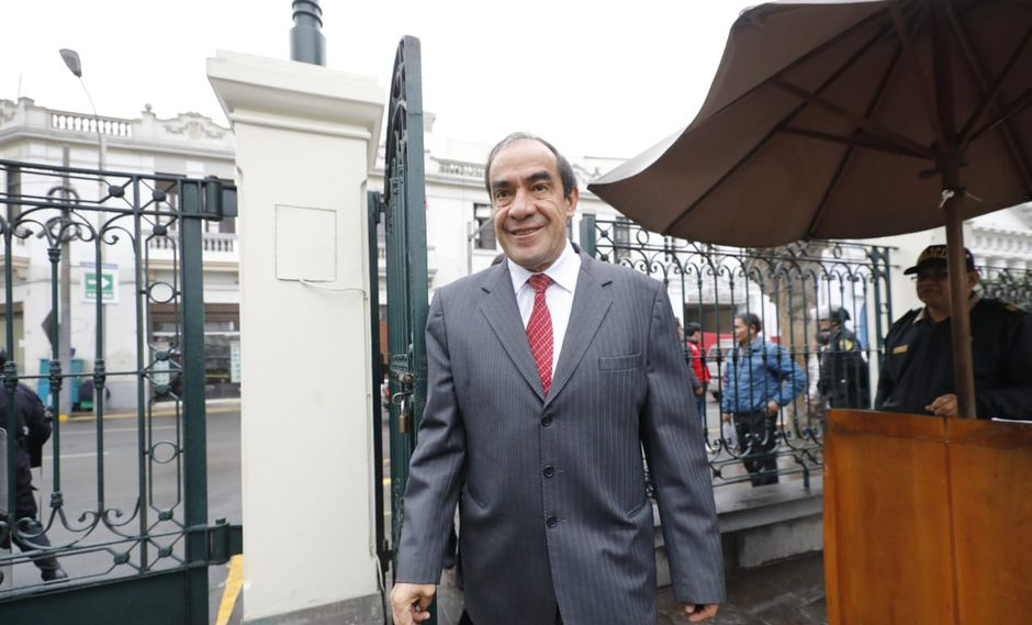 Lescano se expresó a favor de la propuesta del Ejecutivo para adelantar elecciones (Piko Tamashiro/GEC).