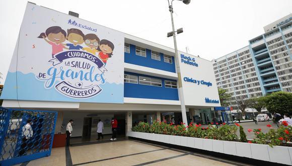 Después de 30 años EsSalud remodeló ambientes pediátricos en el Hospital Rebagliati (Foto: EsSalud)