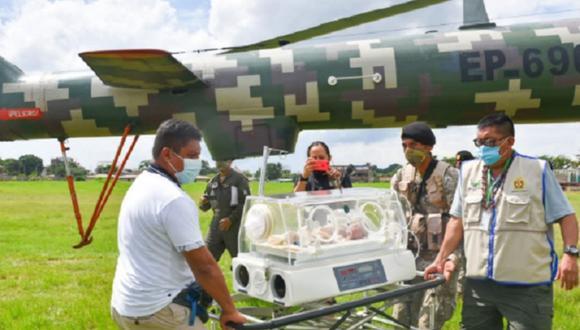 El Gobierno Regional le pidió al Ministerio de Defensa, que los apoye con un vuelo humanitario, señalando que para llegar desde la provincia de Manu a Puerto Maldonado, demoraría 5 días por tierra (Andina)