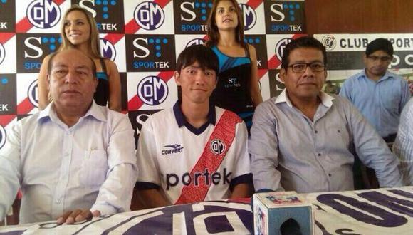 Deportivo Municipal se estrena en la \'Noche de la Pasión Edil\' con Masakatsu Sawa (Twitter Deportivo Municiopal).