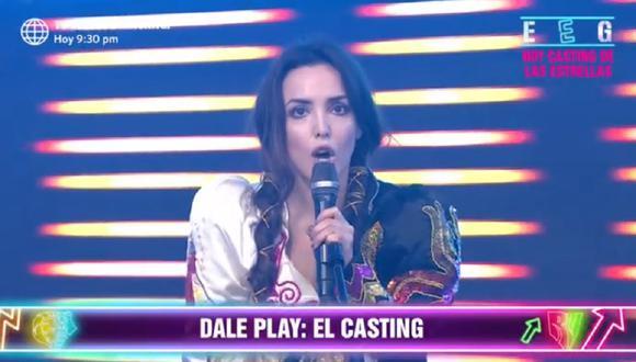 Rosángela Espinoza y el productor Peter Fajardo discuten en vivo. (Foto: Captura América TV)