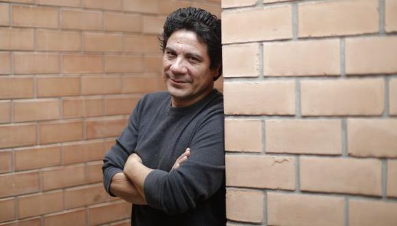 Bruno Odar, actor que encontró en la actuación una tabla de salvación. (Foto por Renzo Salazar).