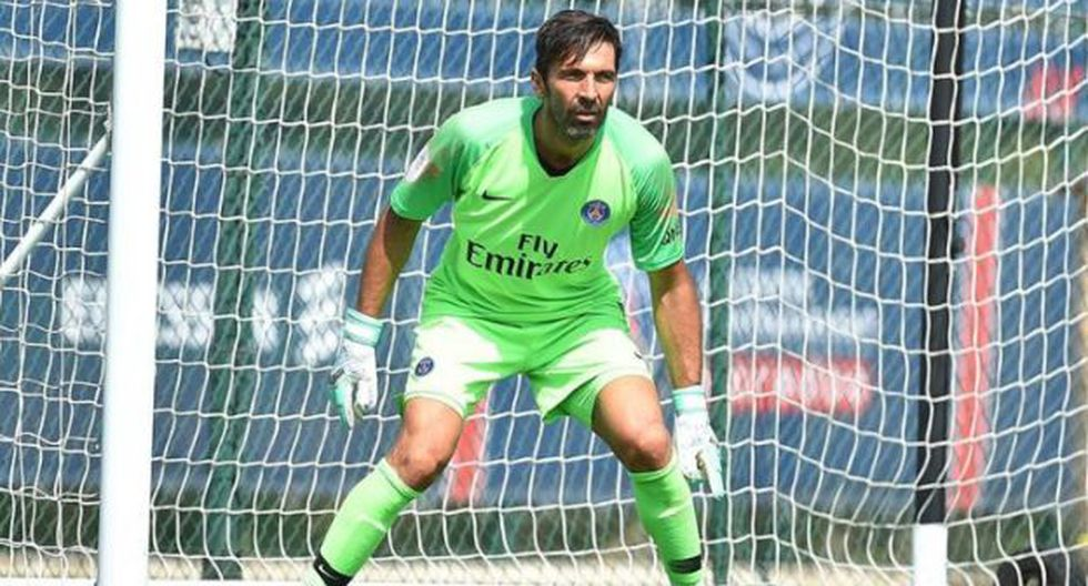 Gianluigi Buffon firmó contrato con el PSG por una temporada. (Getty Images)
