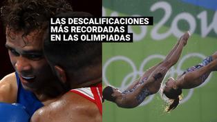 Descalificaciones más recordadas en los Juegos Olímpicos