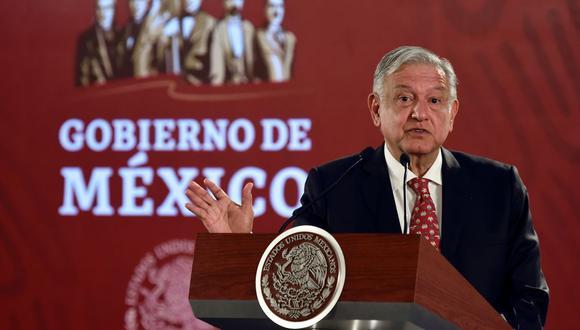 """AMLO insistió en que no aceptará la presencia de fuerzas extranjeras en territorio mexicano """"con propósitos militares"""". (Foto: AFP)"""
