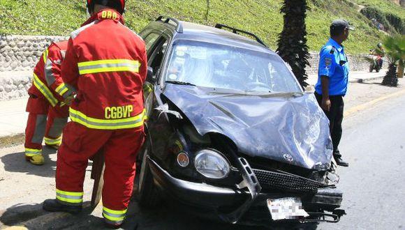 Unas 550 víctimas en accidentes vehiculares en primer trimestre de 2014. (USI)