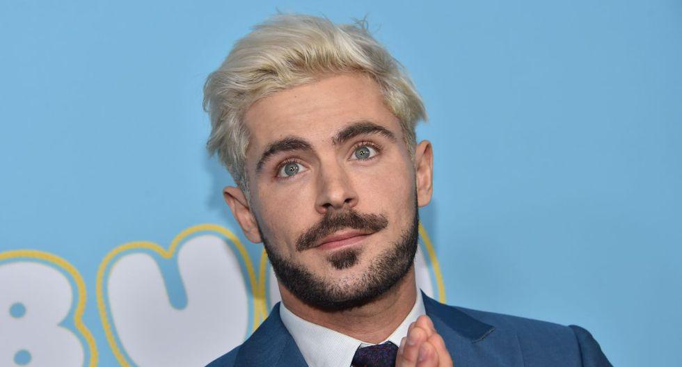 Zac Efron empezó su carrera a las 11 años y tuvo sus primeros pinitos como actor en obras teatrales. El éxito mundial vino con 'High School Musical' en 2007. (Foto: AFP)