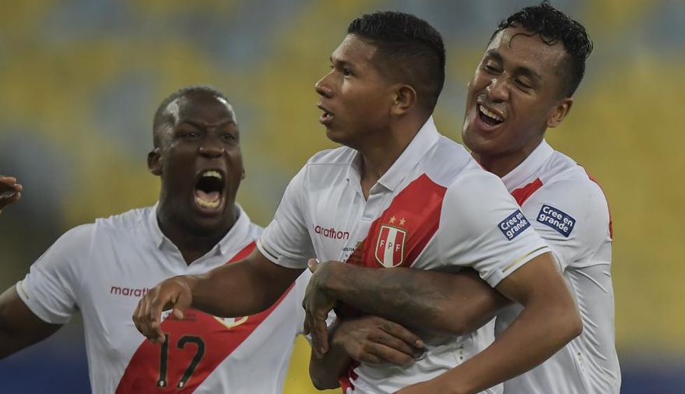 Perú vs. Ecuador: la alineación que probó Gareca a un día del amistoso de la Blnaquirroja.(Foto: AFP)