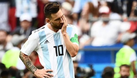 El poco éxito que ha tenido Lionel Messi en la selección Argentina fue analizado por Barack Obama. (Foto: AFP)