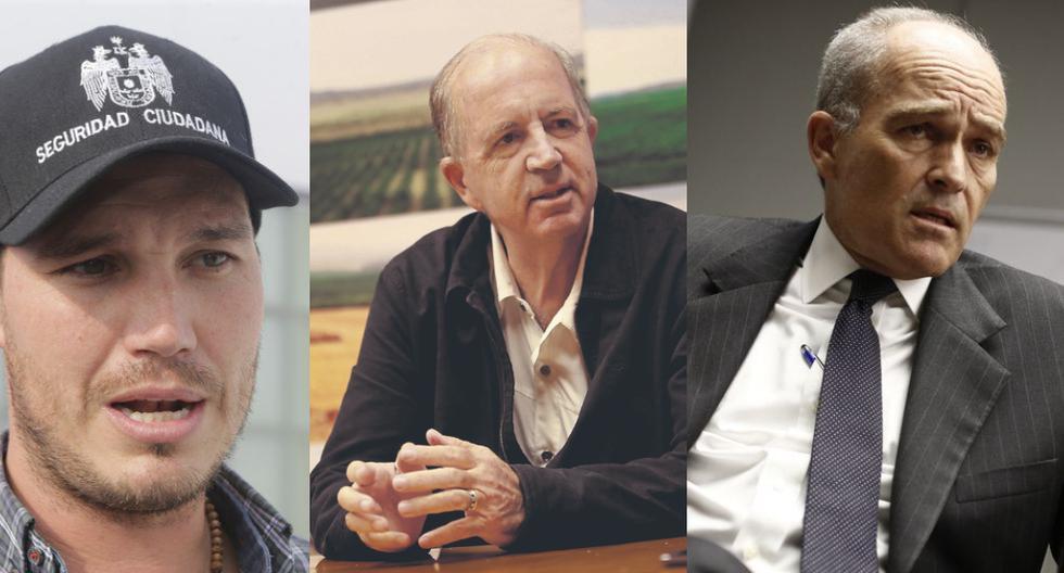 George Forsyth, Fernando Cillóniz y Roque Benavides van al ruedo