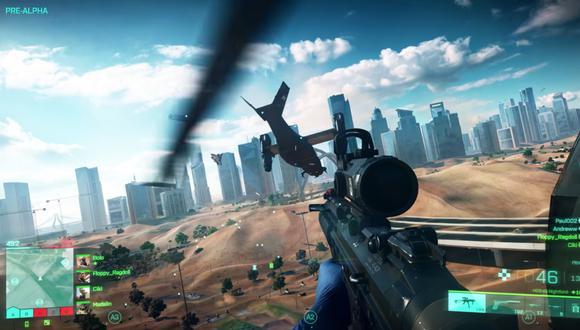 'Battlefield 2042' saldrá a la venta para PlayStation 5, Xbox Series X|S, PC, PlayStation 4 y Xbox One el 22 de octubre.