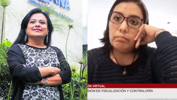 Karem Roca y Mirian Morales dejaron de laborar en Palacio de Gobierno. (Foto: Composición)