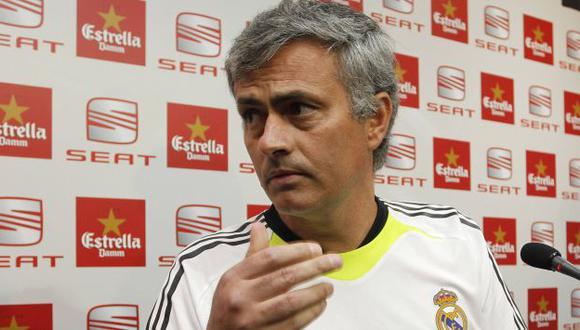 'Mou' negó que haya pedido la contratación de más jugadores. (Reuters)