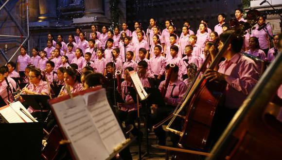Estos jóvenes músicos buscarán transmitir la mejor de las emociones y preparar un ambiente de unión y esperanza. (USI)