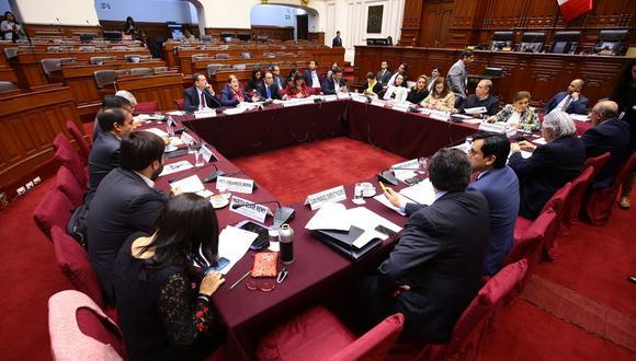 La Comisión de Constitución votó la reforma sobre financiamiento de partidos políticos y suspendieron el debate de bicameralidad. (Foto: Twitter)