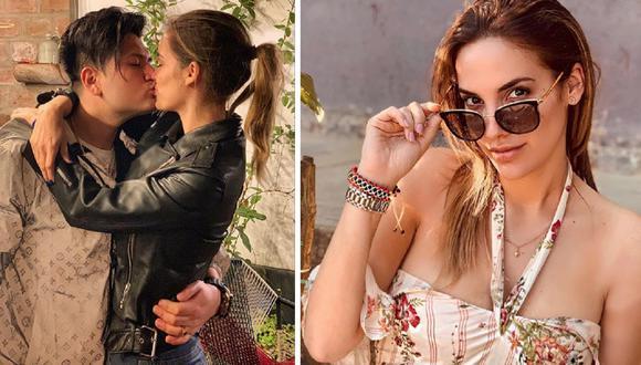 La pareja del cantante Deyvis Orosco desmintió que se encuentre embarazada. (Composición)