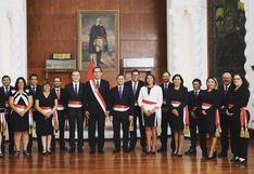 Políticos saludaron paridad de nuevo gabinete encabezado por Salvador del Solar