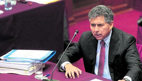 Le llegó la hora. Ramírez Cadenillas va al banquillo de los acusados por sus actos en Proinversión. (Foto: GEC)