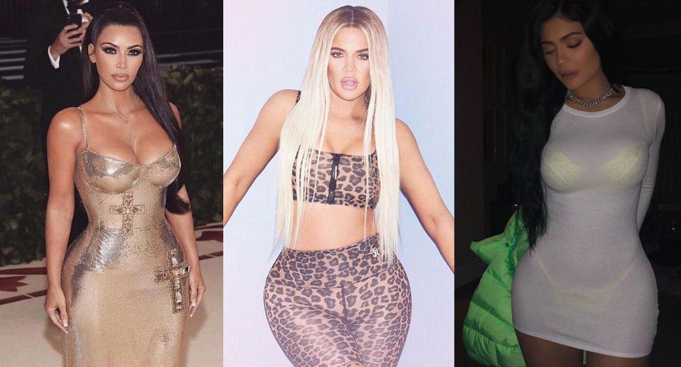 Kim Kardashian muestra el parecido de Chicago con las hijas de sus hermanas Khloé Kardashian y Kylie Jenner. (Foto: Composición/Instagram)