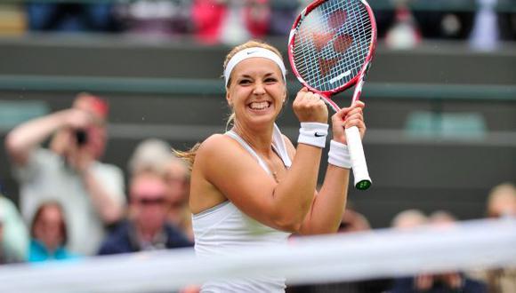 LA SORPRESA. Lisicki ya había eliminado a Serena Williams. (AFP)