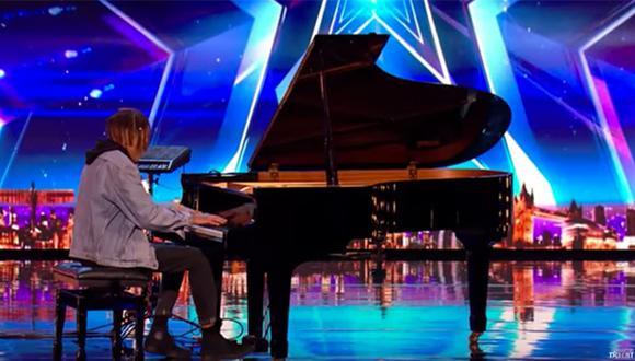 YouTube: Joven pianista sorprende reality de talentos con este mushup de Ed Sheeran y Debussy (Captura)