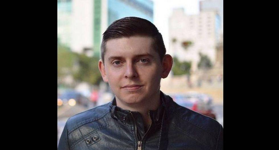 Coddy Weddle, periodista detenido en Caracas (Twitter)