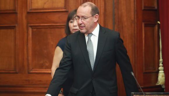 Chlimper renunció a la secretaría general de Fuerza Popular el 20 de octubre del 2018 luego de que se revelase en una audiencia que entregó US$210 mil en efectivo a un directivo de RPP en la campaña presidencial del 2011.  (Foto: GEC)