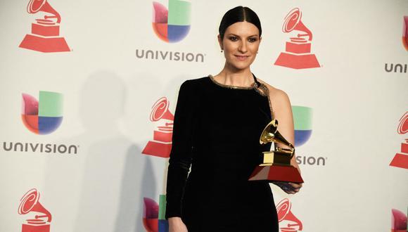 Laura Pausini interpretará su tema candidato al Oscar en la ceremonia de Los Ángeles. (Foto: Bridget Bennett / AFP)