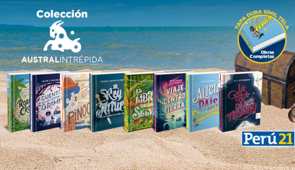 Una colección de 8 entregas donde encontrarás las mejores obras, cuentos y novelas como El libro de la selva, El rey Arturo, Viaje al centro de la tierra, entre otros.
