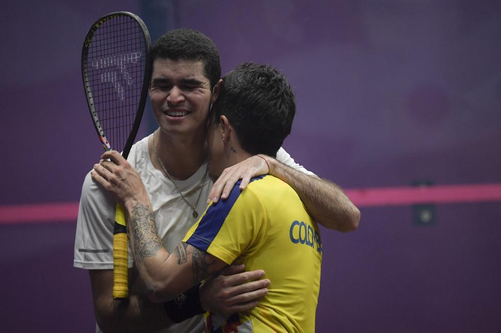 Diego Elías ganó 3-1 contra Miguel Rodríguez y se llevó la medalla de oro en Lima 2019. (GEC)