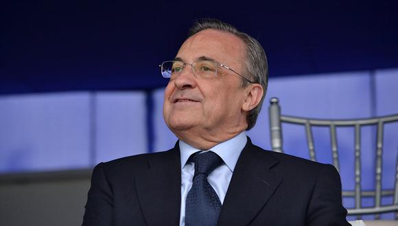 Florentino Pérez y las duras críticas que recibió de un diario italiano por presuntamente manipular la elección de los finalistas al Balón de Oro 2018. (Foto: Real Madrid)