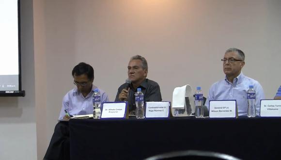 Barrantes fue pasado a situación de disponibilidad en 2004 por medida disciplinaria.
