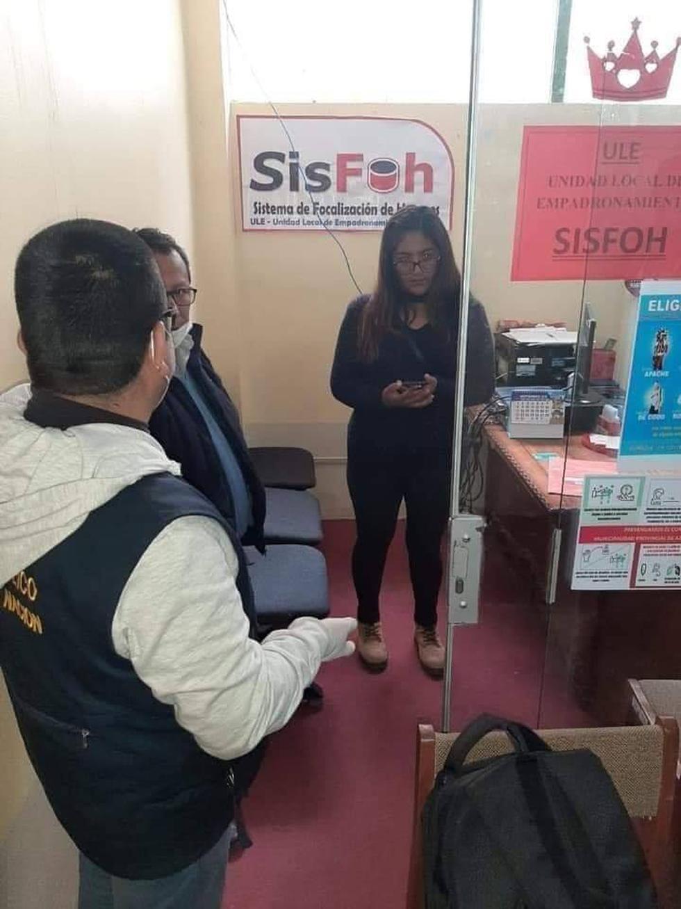Puno. Investigan manipulación de padrón para beneficiarios del Bono 380 en la Municipalidad Provincial de Azángaro. (Ministerio Público)