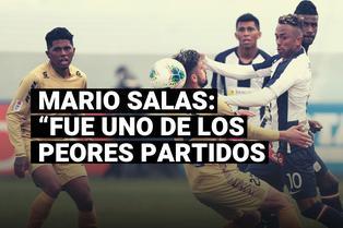 """Mario Salas tras derrota de Alianza Lima: """"Fue uno de los peores partidos que hemos jugado"""""""