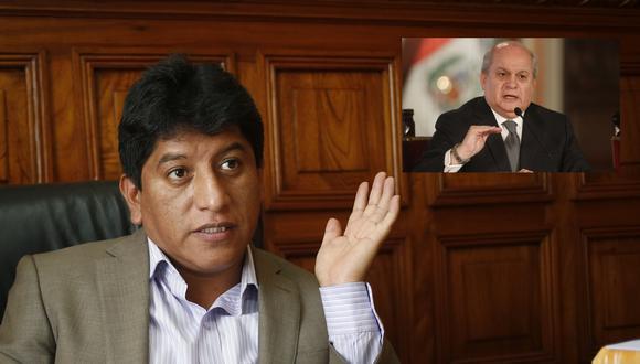 Josué Gutierrez criticó palabras del primer ministro. (Perú21/Gestión)