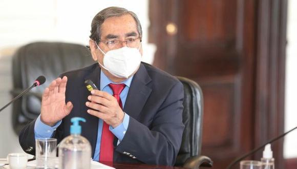 El ministro de Salud destacó ventajas de la dosis desarrollada por Sinovac. (Foto: PCM)
