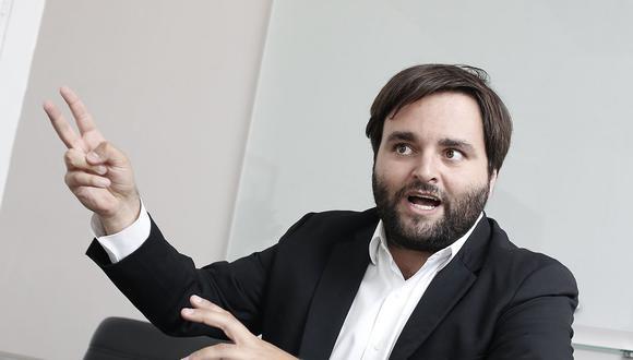 El congresista de la Bancada Liberal, Alberto de Belaunde, manifestó que él no ofendió a un parlamentario sino que hizo una valoración política. (Foto: GEC)