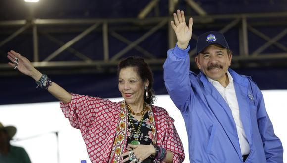 Rosario Murillo declaró en momentos en que Nicaragua atraviesa una crisis de derechos humanos, según organismos internacionales. (Foto: EFE)