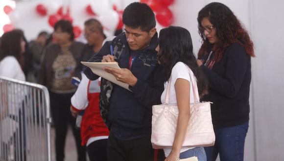 En el trimestre de análisis, la tasa de desempleo en Lima Metropolitana fue de 15.1%. (Foto: GEC)