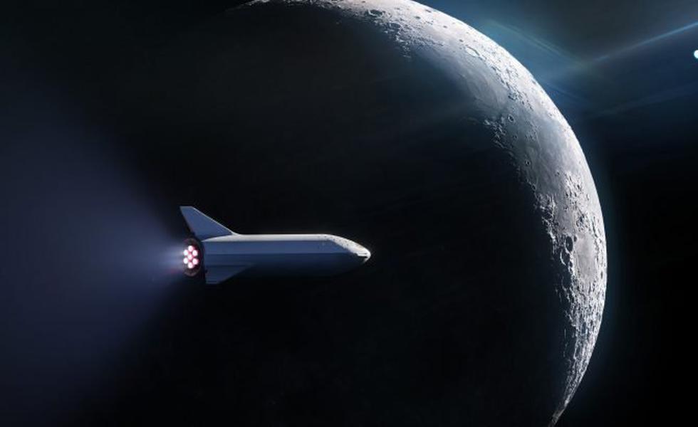 SpaceX ya tiene a su primer cliente para el futuro turismo espacial. (SpaceX/Twitter)