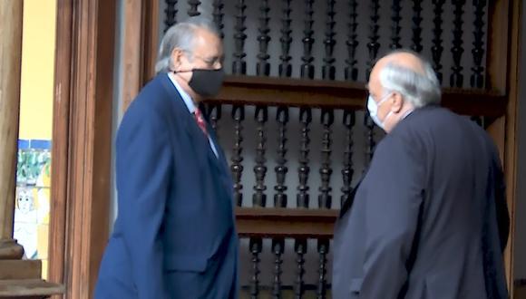 Funcionario se reunieron en la sede del Ministerio de Relaciones Exteriores. (Foto: Cancillería Perú)