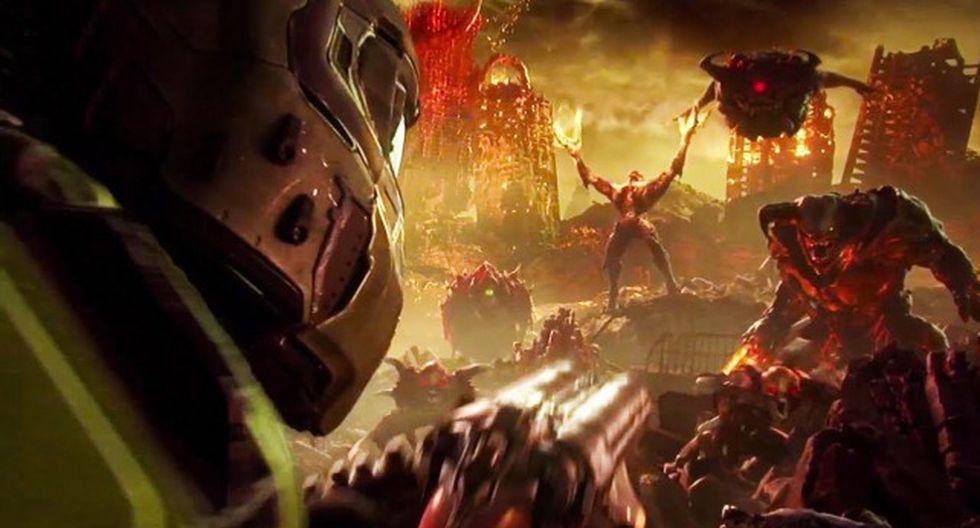DOOM Eternal llegará a PS4, Xbox One y PC, aunque aún no tiene fecha de lanzamiento oficial.