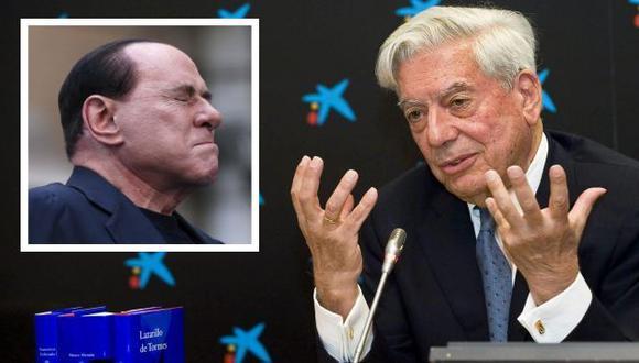 Mario Vargas Llosa lanza duros calificativos a Silvio Berlusconi. (EFE)